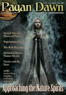 Pagan Dawn 216 Lammas 2020