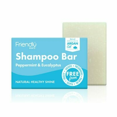 Peppermint & Eucalyptus shampoo bar