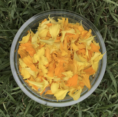 Edible Marigold petals *Order by Tuesday for delivery same week