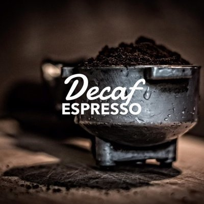 DECAF ESPRESSO (Brazil, medium dark roast)