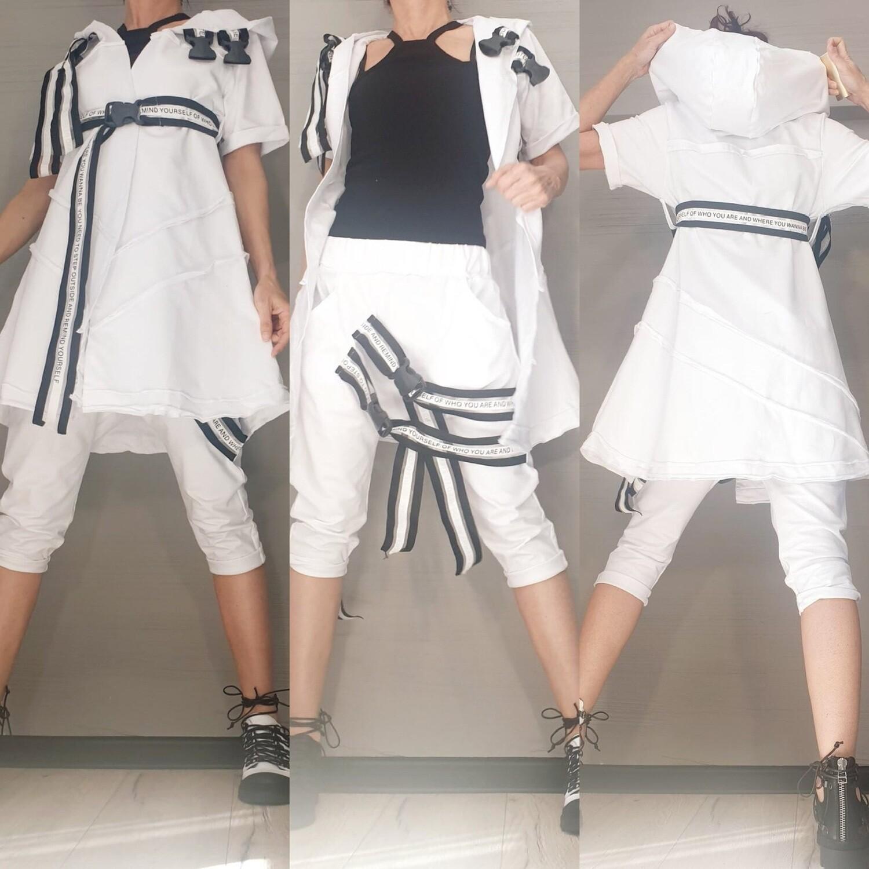 White Track Suit