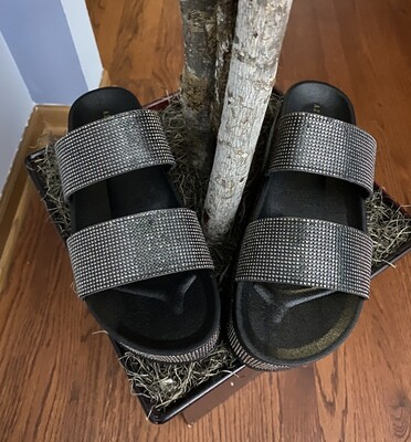 Midnight Shine Sandal