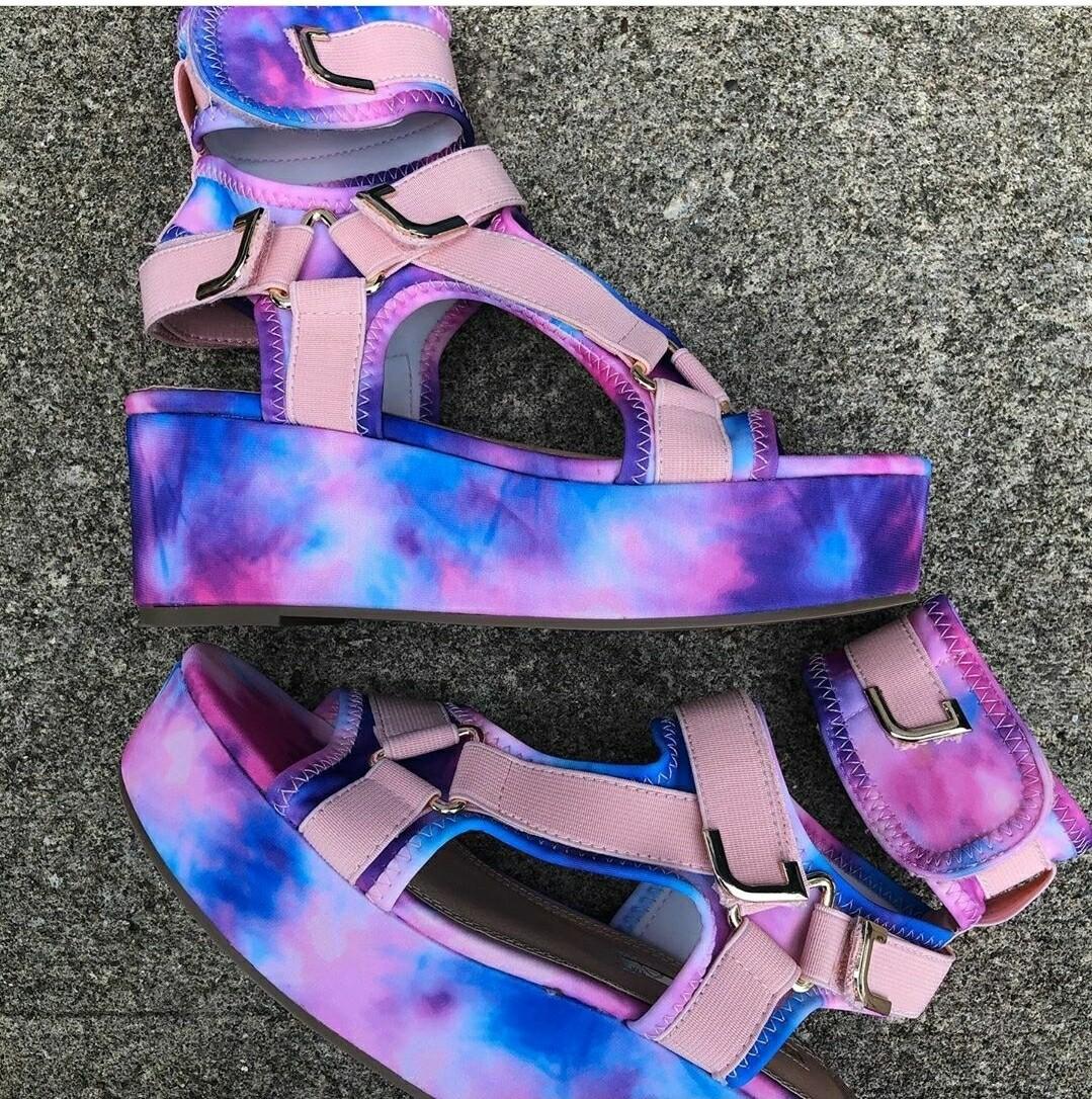 Cotton Candy Sandal