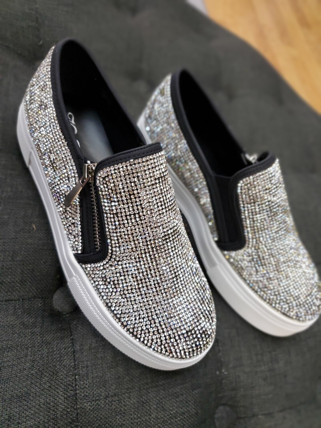 Blinged Out Sneaker
