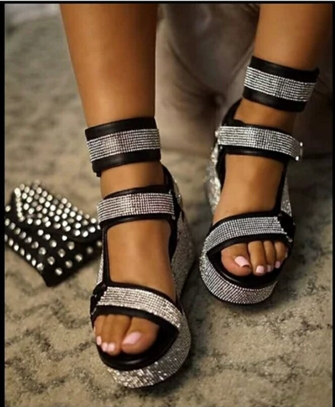 Blingfully Sexy Sandal