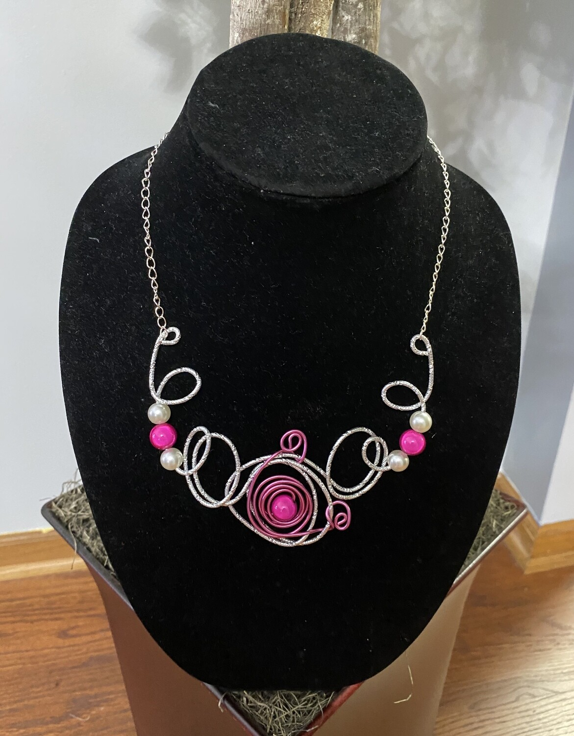 Wired Candy Pink Necklace