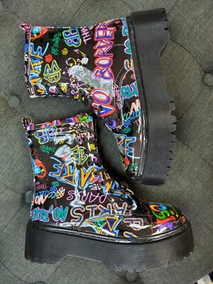 Graffiti Boot