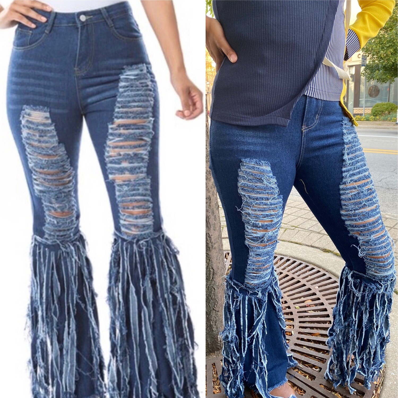 Fringe-N-Around Jeans
