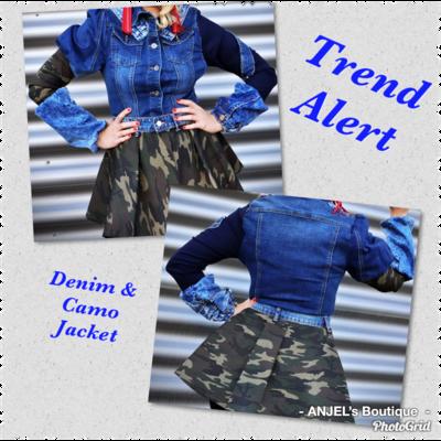 Trend Alert Camo Jacket
