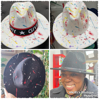 Splattered Fedora