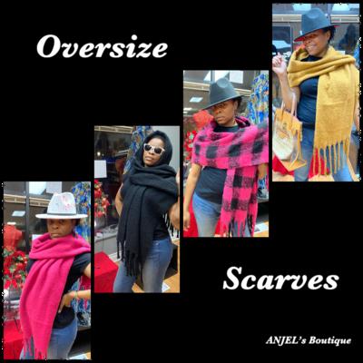 Oversize Jumbo Scarves