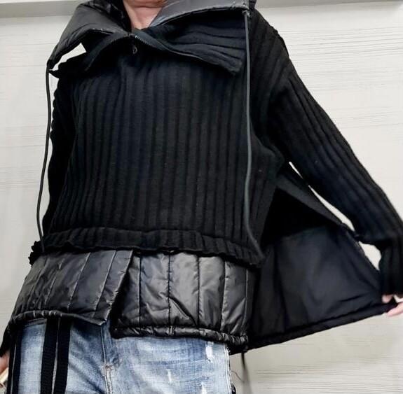 2-N-1 Sweater Jacket
