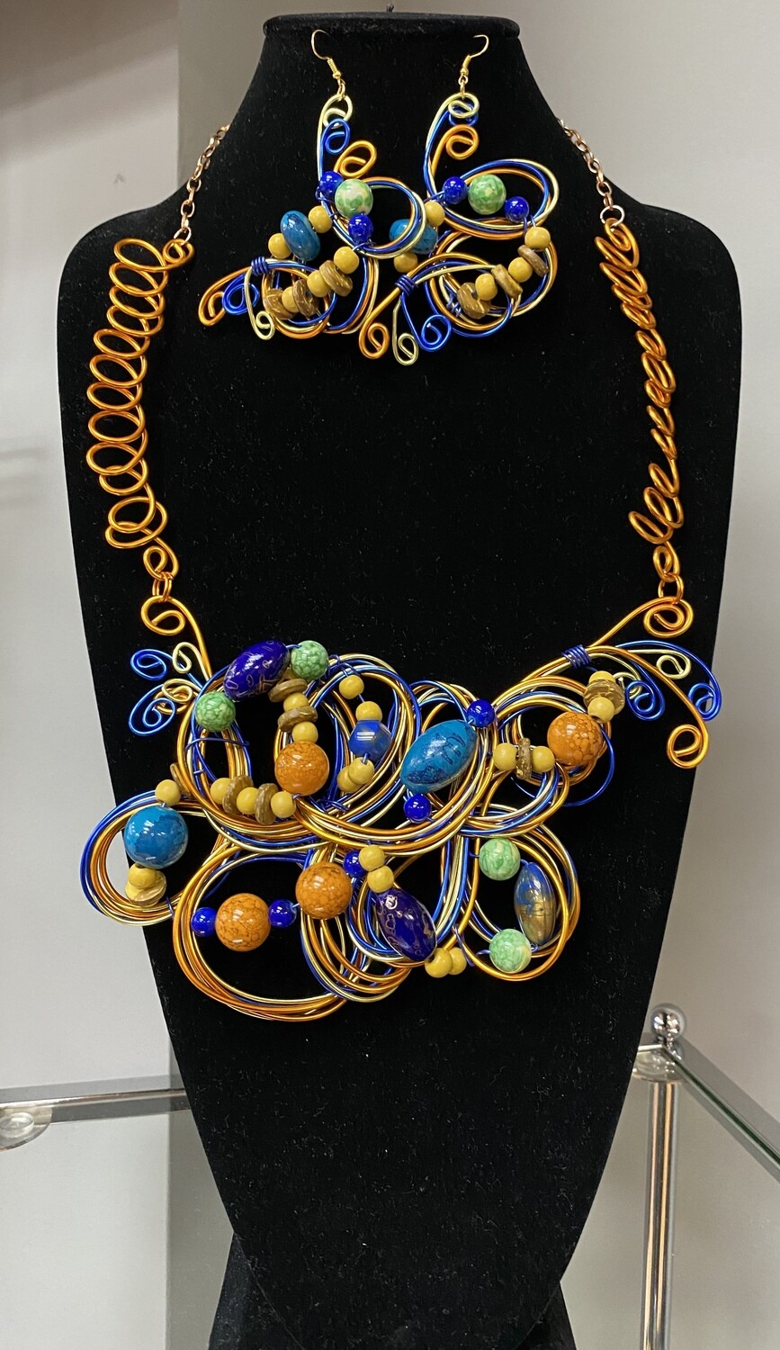 Wired Earthful Necklace Set