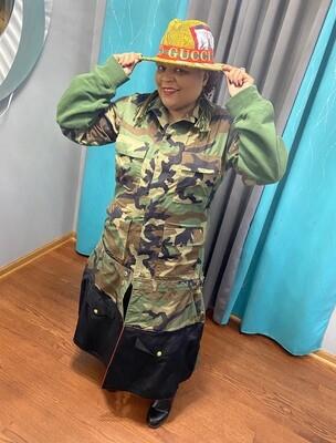 Classy Camouflage Coat
