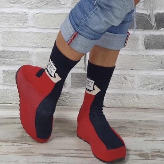 Sorry I'm Busy Sock Shoe