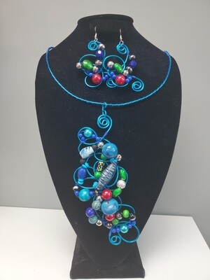 Wired Bejeweled Set