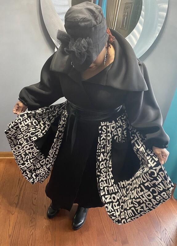 Alphabet Scuba Jacket
