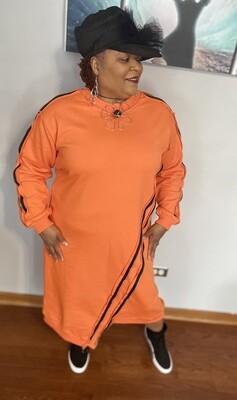 Orange You Juicy Dress