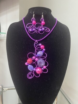 Wired Purple Passion Set