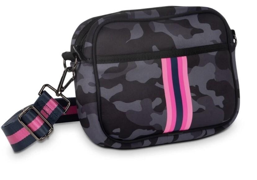 Camouflage Stripe Crossbody-2
