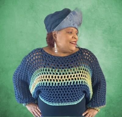 Spring Crochet Shrug