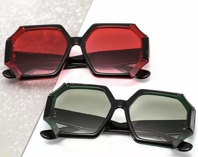 Pearl Polygon Sunglasses