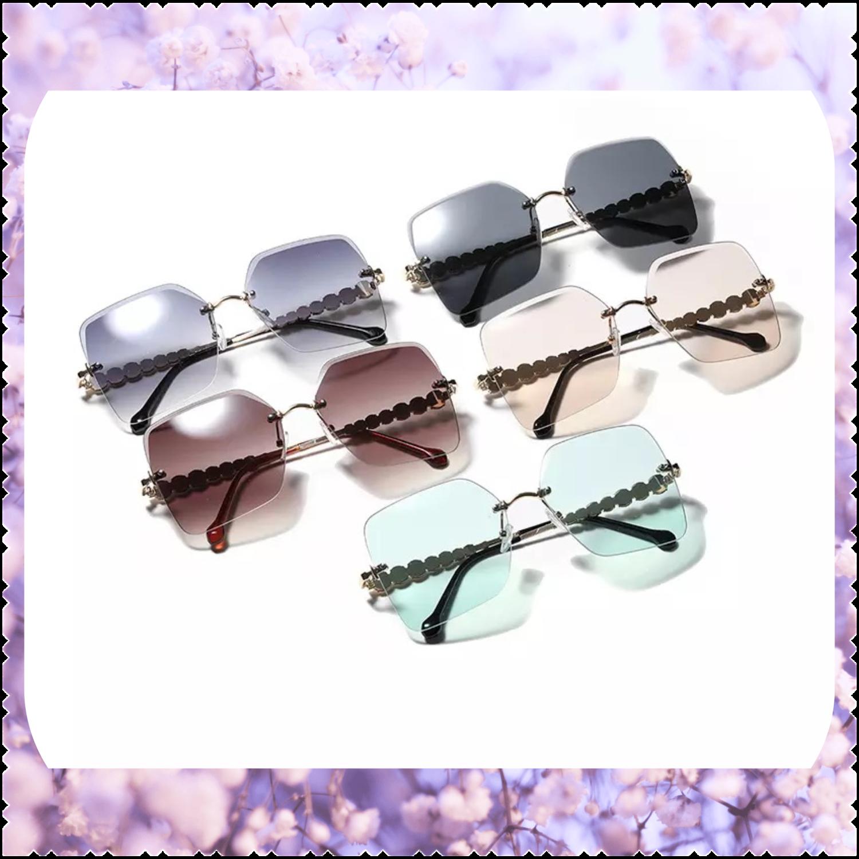 Diamond Retro Sunglasses