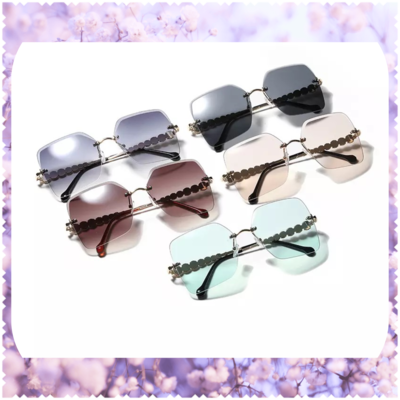 Diamond Retro Sunglasses