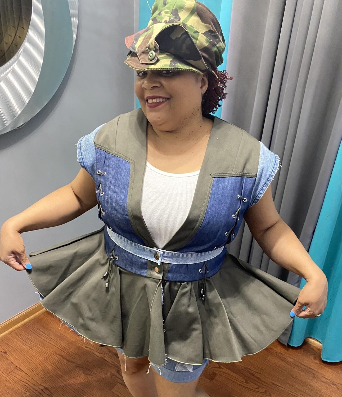 Denim Princess Vest