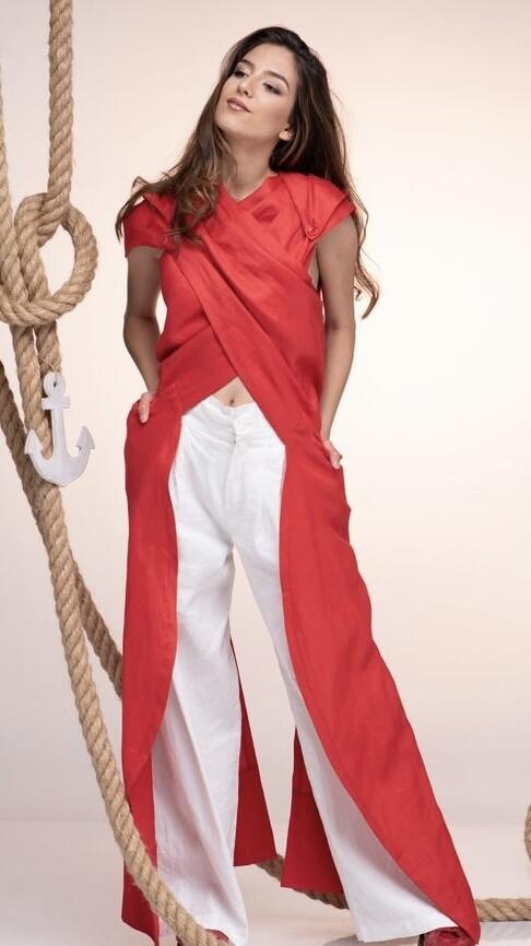 Red Hiding Hood Tunic