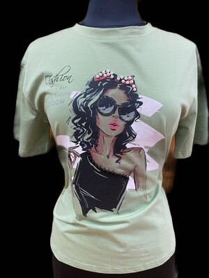 Fashion Tees Diva Green
