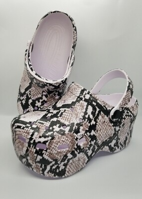Chunky Python Sandal