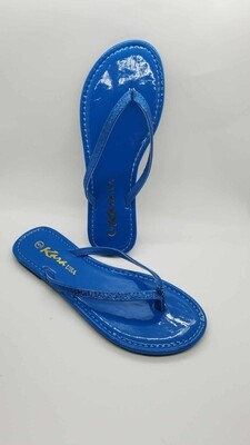 Glitter Slides (Blue)