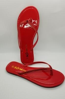 Glitter Slides (Red)