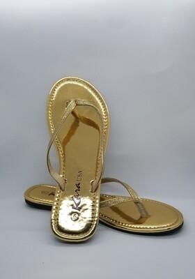 Glitter Slides (Gold)