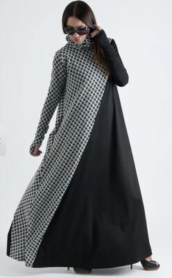 Black/White Checker Maxi