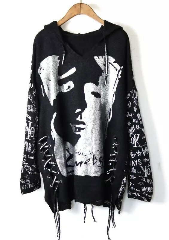 Face Off Graffiti Sweater
