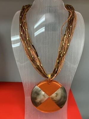 Rust Pendant