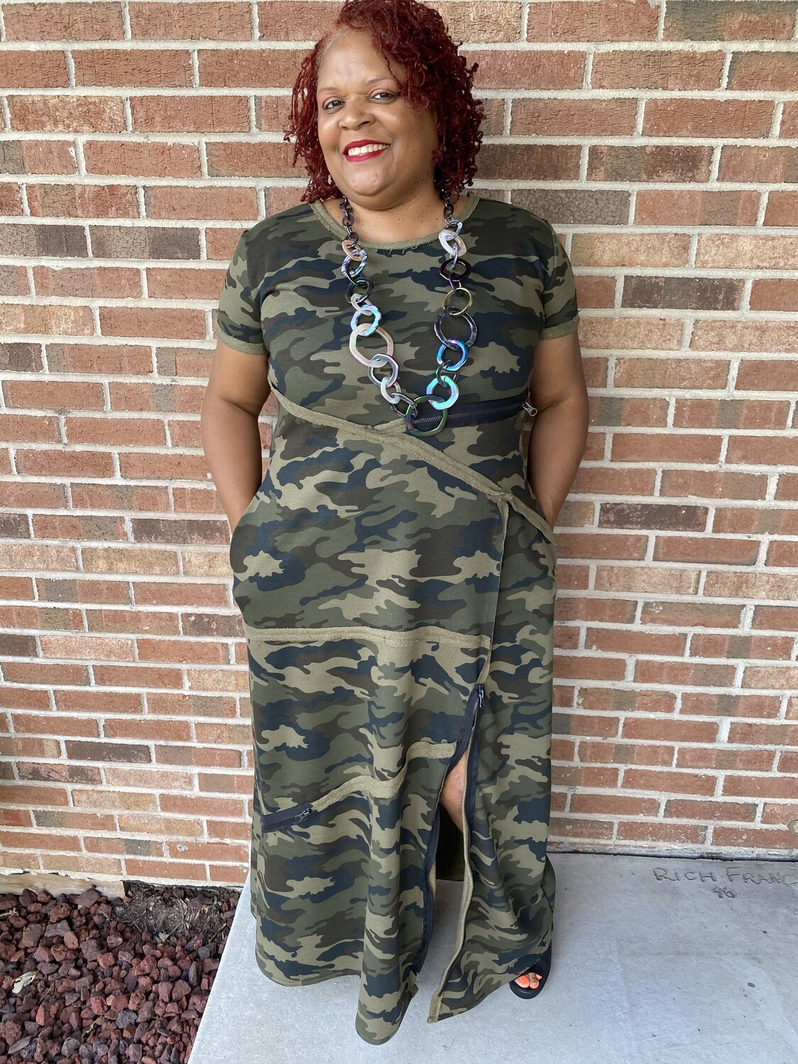 All Kind of Zippers Camo