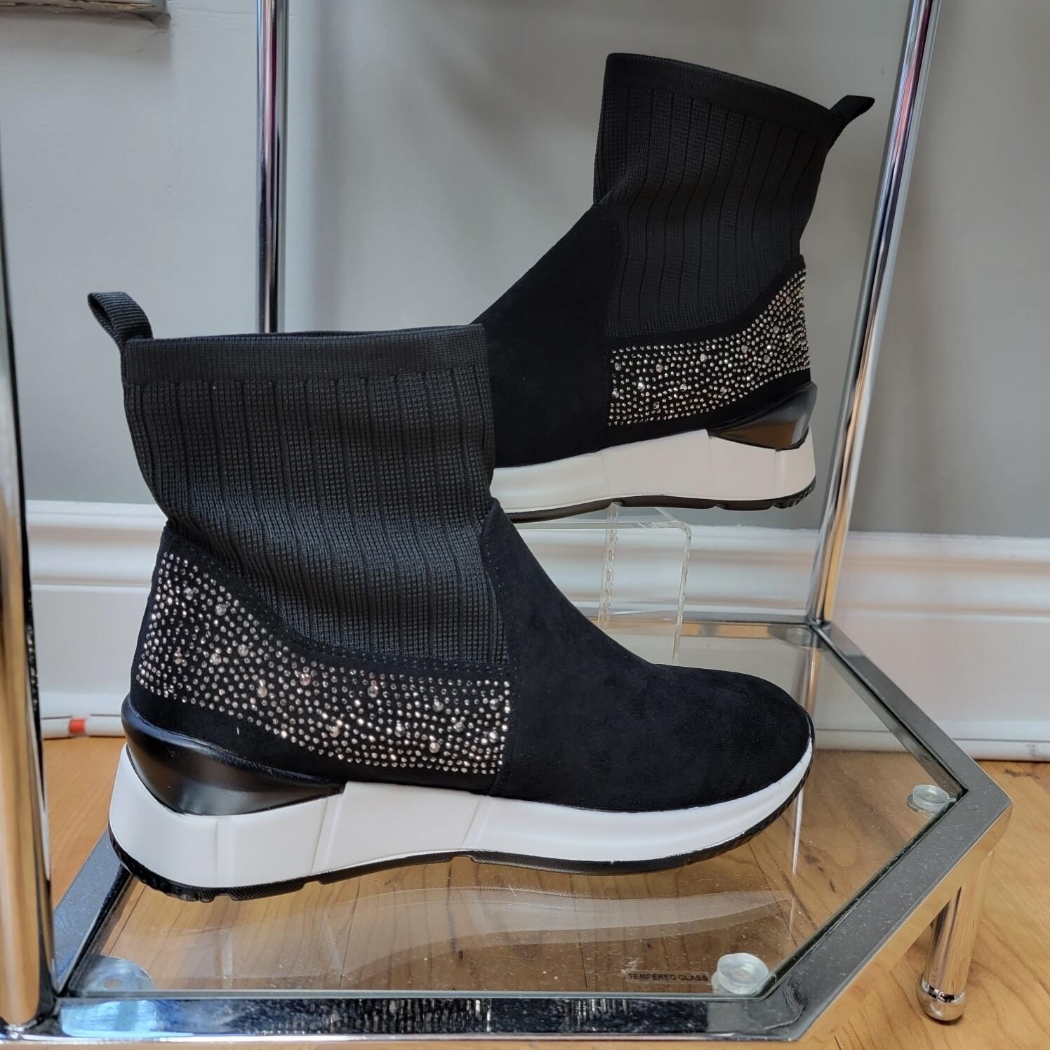 Sparkly Suede Sneaker
