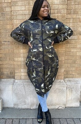 Accentuate Camouflage Jacket