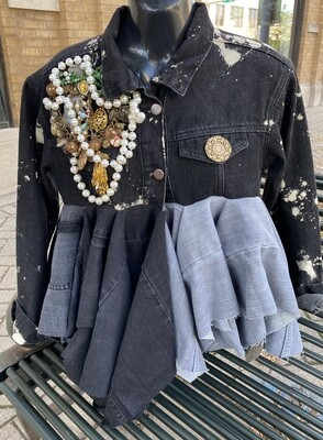 Bed of Buttons Junk Jacket