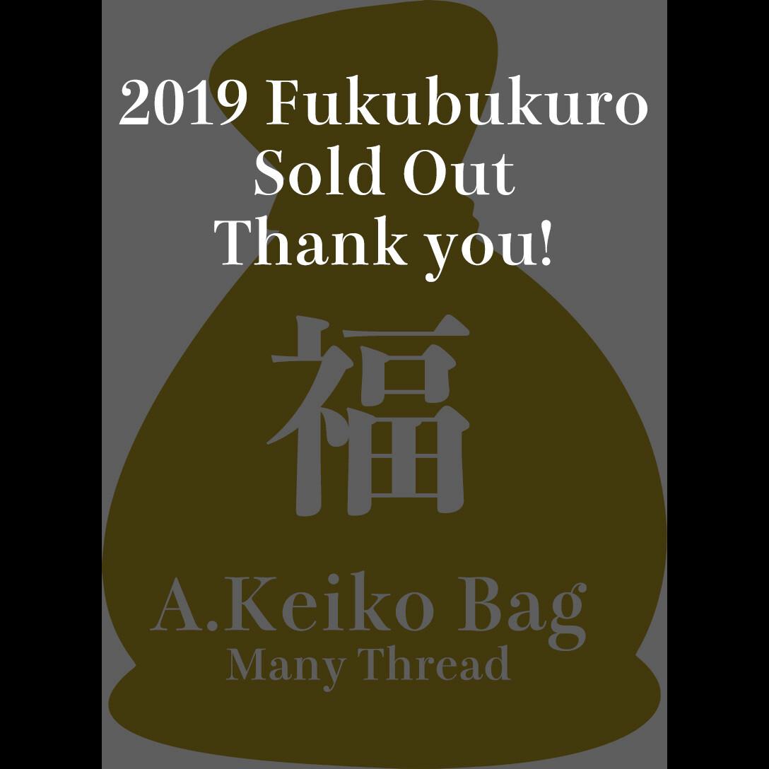 Sashiko Fukubukuro 2019 | A. Keiko Bag