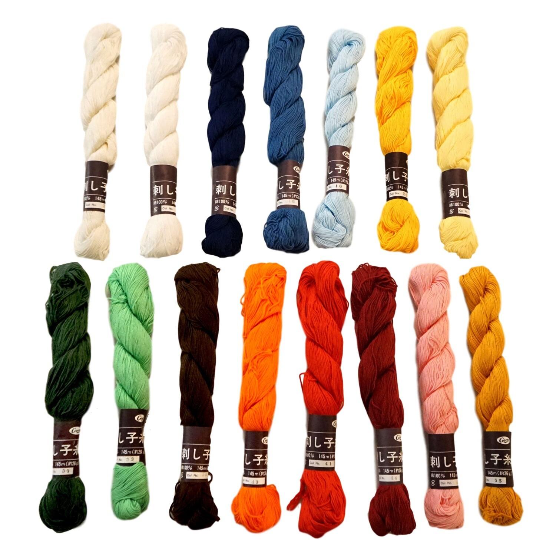 Sashiko Thread (145 meter / Mono Color)
