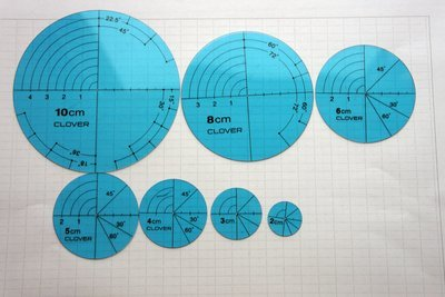 A set of Circle Plates | place to draw geometric patterns.