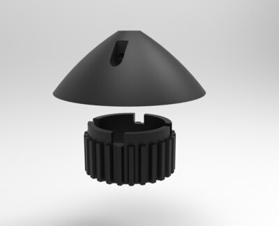 Belt Drive Gear and End Cap for Autohelm 3000 and ST3000