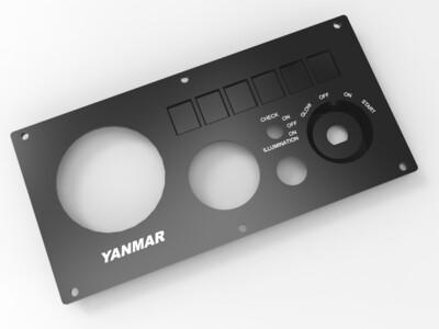 Yanmar Type B Engine Instrument Panel Replacement