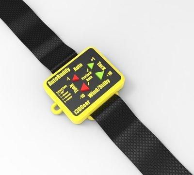 Wrist transmitter for AutoBuddy SeaTalk Remote