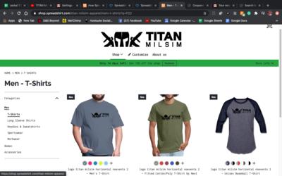 Titan Milsim Apparel