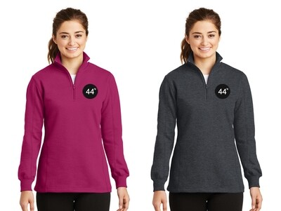 44N Ladies Sport-Tek® 1/4-Zip Sweatshirt - LST253